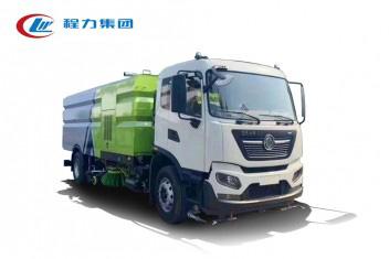 东风天锦洗扫车8吨