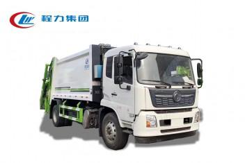 东风天锦压缩式垃圾车12方
